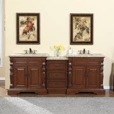 accord 90 inch double sink bathroom vanity venetian granite top