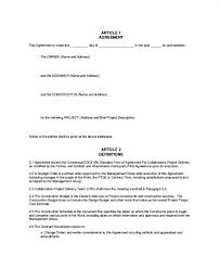 Team Agreement Template As Well As Team Operating Agreement Template ...