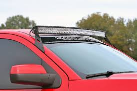 54 Inch Curved Light Bar 54 Inch Curved Led Light Bar Upper Windshield Mounting Brackets Gm 1500 Pickup