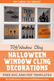 An svg file will arrive zipped. Halloween Window Clings Six Little Ducks Cricut