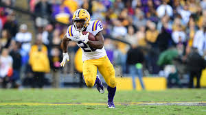 Clyde Edwards Helaire 2019 Football Lsu Tigers