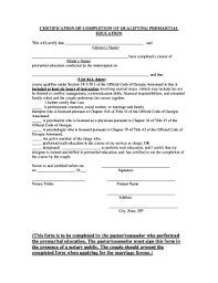 Marriage Counselling Certificate Sample Fill Online Printable