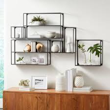 Booker Climbing <b>Wall Display Shelf</b>, Set of 6 | Crate and Barrel ...