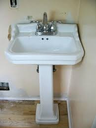petite pedestal sink. Pegasus Sinks Petite Pedestal Sink Kulfoldimunkaclub On