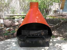 outdoor chiminea fire pits