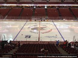 Honda Center View From Club Level 307 Vivid Seats