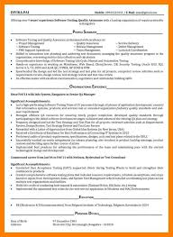 Qa Tester Resume Sample Qa tester resume 81