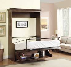 office desk bed. natanielle full murphy bed with desk and storage cabinet walnut intended for wall office