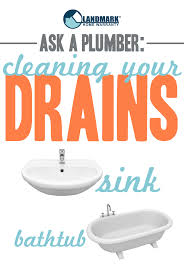 ask a plumber the best way to clean your drains