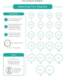 Stella And Dot Clothing Size Chart Measuring Your Ring Size