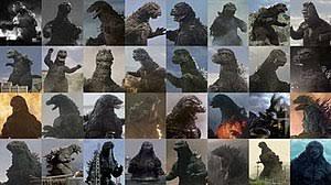 Godzilla Evolution Chart Godzilla Wikipedia