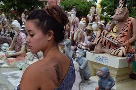 ежегодный фестиваль магической татуировки сак янт новости таиланда