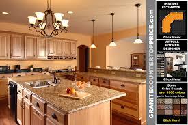 granite light with oak cabinets countertops granite countertops