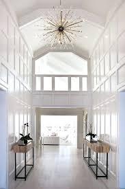 hallway chandelier ideas best two story