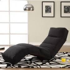 Reclining chaise lounge indoor