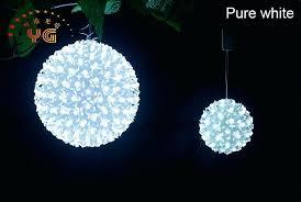 outdoor lighting balls. Modren Lighting Outdoor Christmas Light Balls Ball Of Lights Decor Make  Throughout Lighting I