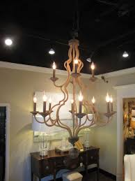 two tier jute wrapped chandelier with 12 lights 34 diameter 46h