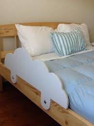 super cute toddler bed rails maybe for an aviator room diy rail pool noodles toddler twin bed