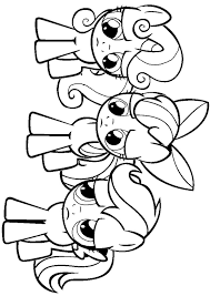 My Little Pony Crossover Pretty Peac Coloring Pages Print Coloring