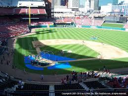 Memphis Redbirds Seating Chart Busch Stadium View From Home Redbird Club 247 Vivid Seats