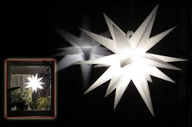 Stern Weihnachtsstern Als Weihnachtsbeleuchtung Für
