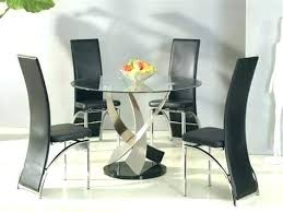 round glass top dining table set 6 chairs sets for kitchen large round dining table seats 8 canada