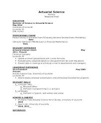 Profiles On Resumes Resume Profile Example Examples For College Students Professional