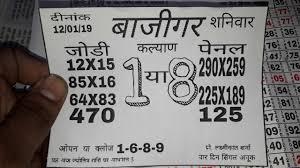 Bajigar Spesal Klyan Men Mumbai 07 01 19 To 12 01 19 Kalka