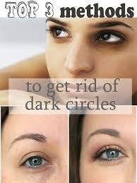 top 3 remes to get rid of dark circles under eyes