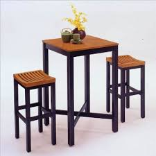 get quotations home styles furniture contour black with oak veneer pub table and bar stool set cheap home bars furniture
