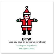 Printable Digital Santa Card Template