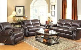 leather sofa and loveseat set abbyson living monaco dark brown