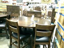 bayside furnishings 9 piece dining set costco reviews square to round 7 di
