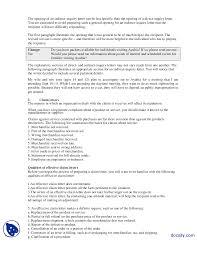 Direct Request Letters Part 2 Communication Skills Lecture Handout