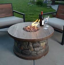 gas patio table. creative of patio gas fire pit decor images 1000 throughout outside pits plan table i
