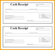 Payment Receipt Format In Word Money Sample Template Free