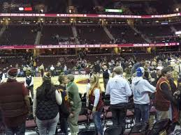 Cavs Virtual Seating Chart Cleveland Cavaliers Seating Chart Map Seatgeek