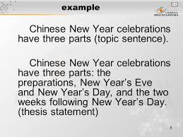 pertemuan from paragraph to essay matakuliah writing iii  8 example chinese new year celebrations have three parts topic sentence