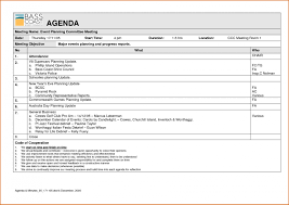 Event Planning Agenda Template Meeting Minutes Free Planner