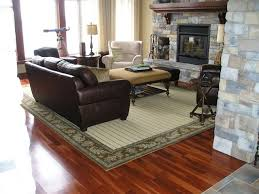 Wool Area rug Craftsman Living Room Ottawa by Personal