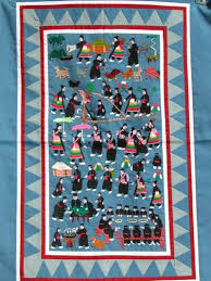 Hmong New Year Story Cloth | HMONG ABC & Hmong New Year Story Cloth Adamdwight.com