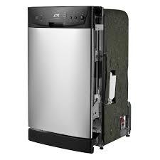 18 inch built in dishwasher. Delighful Inch SPT Energy Star 18inch BuiltIn Dishwasher  Stainless Steel Intended 18 Inch Built In L