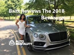 2018 bentley bentayga. plain bentley britt reviews the 2018 bentley bentayga black edition for bentley bentayga