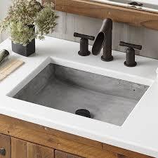 undermount bathroom sinks. nipomo stone rectangular undermount bathroom sink sinks c