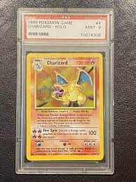 1999 Pokemon Game TCG - CHARIZARD Holo in for £700.00 for sale