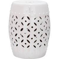 safavieh lattice coin garden stool product variants selector white white garden stool a98