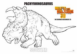Walking With Dinosaurs Coloring Pages Printable Coloring For Kids 2019
