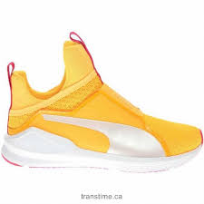 puma fierce culture surf mesh patent leather womens sneakers white yellow