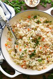 Rice Pilaf {Simple and Easy!} - The Seasoned Mom