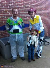toy story characters family costume